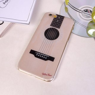 Ultra Sound Acoustic Guitar Folk Print Soft / Hard Case for iPhone X,  iPhone 8,  iPhone 8 Plus,  iPhone 7,  iPhone 7 Plus iPhone 6/6s,  iPhone 6/6s Plus,  iPhone 5/5S, iPhone 4/4S, Samsung Galaxy Note 4 Note 3, S5, S4, S3