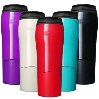 [Sucking the odds and not pouring the cup] Double-layer accompanying cups, five colors, optional 1