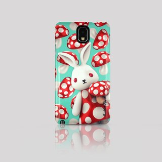 (Rabbit Mint) Mint Rabbit Phone Case - Mushroom Series Merry Boo - Samsung Note 3 (M0005)