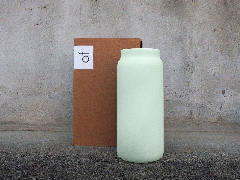 tall of 全瓷花瓶 - 淺綠色