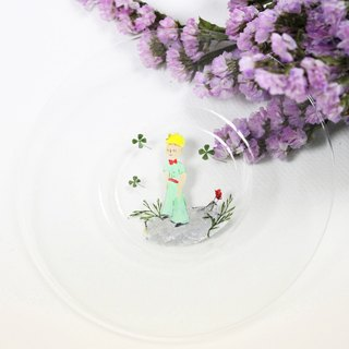 Hand-painted little prince X Yahua plate