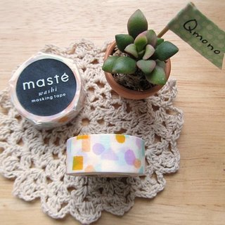 maste Masking Tape and paper tape Multi Series 【Color Geometry - Pink Purple (MST-MKT19-PL)】