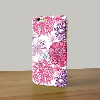 pink rose pattern 15 3D Full Wrap Phone Case, available for  iPhone 7, iPhone 7 Plus, iPhone 6s, iPhone 6s Plus, iPhone 5/5s, iPhone 5c, iPhone 4/4s, Samsung Galaxy S7, S7 Edge, S6 Edge Plus, S6, S6 Edge, S5 S4 S3  Samsung Galaxy Note 5, Note 4, Note 3,  N