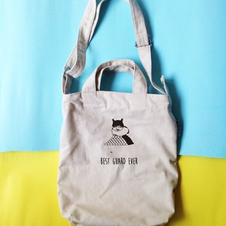 Cats guard | portable canvas shoulder bag