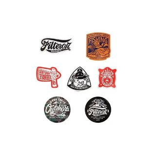 Filter017 貼紙-CREALIVE OUTDOOR LAB STICKER SET - A