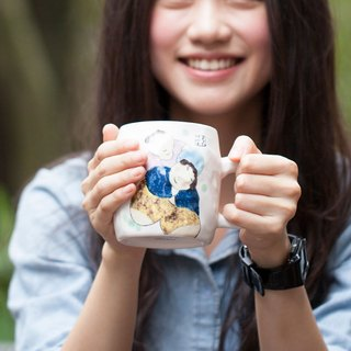 Wu Zhongzong / parent-child music - cloud mug