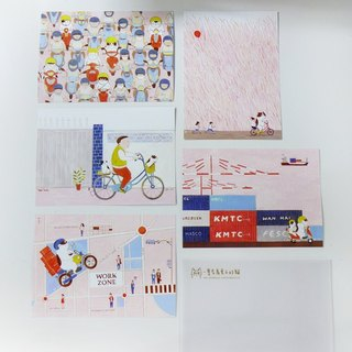 Knights 5 + cat postcard mountain cat neighbor interpolation Pictures Special 400 yuan