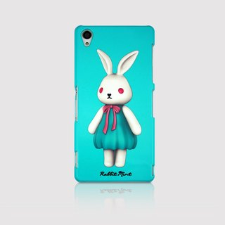 (Rabbit Mint) Mint Rabbit Phone Case - Bu Mali Merry Boo - Sony Z3 (M0002)