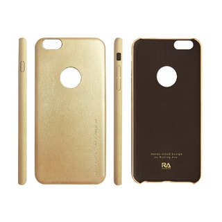 【Rolling Ave.】Ultra Slim iphone 6s plus / 6 plus 手感皮質護套-香檳金