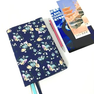 Tibetan blue lily of the valley A6 book clothes