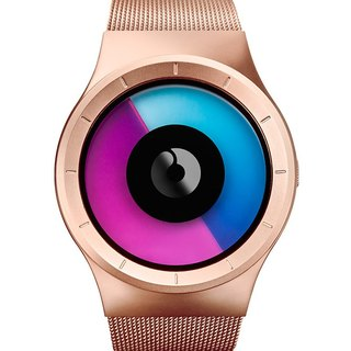 Cosmic sky watches CELESTE (rose / gold, Rose / Gold)