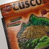 彩色祕魯彈片零錢/置物包-咖啡橘(馬秋比丘)