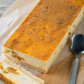Hit the sweet potato flavor cheese cake