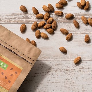 Light roasted almond fruit - kraft paper bag [plain studio]