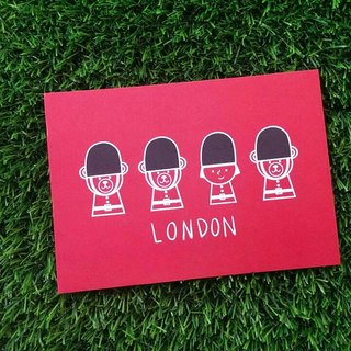 {FiFi Urban Series postcards} ★ ★ Bears met in London