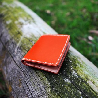 45. The hand-made leather wallet / purse / short clip