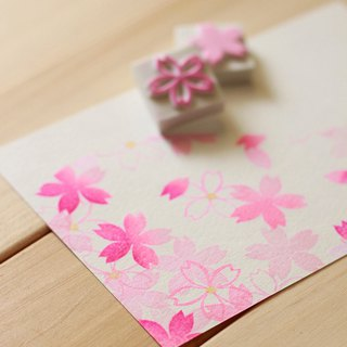 Apu handmade chapter pure beauty wild cherry stamp group 3 pieces of hand stamp seal size optional
