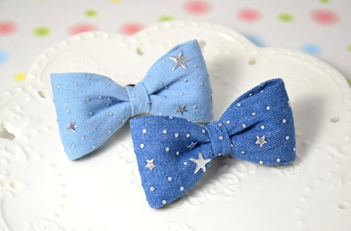 Three-dimensional cowboy star bow