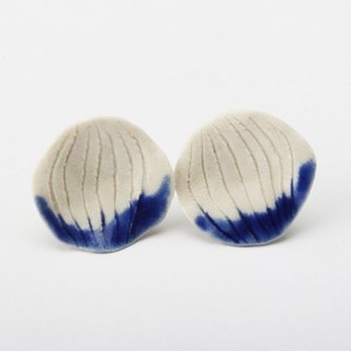 Pétale ceramic earrings