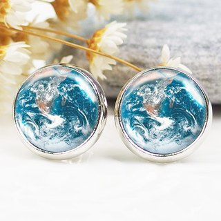 Earth - ear clip earrings earrings ︱ ︱ ︱ little face modified fashion accessories birthday gift