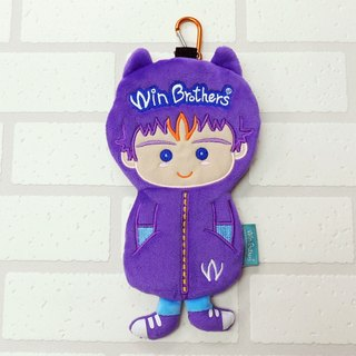 Little Doll Pencil allow fluff winbrothers soft plush doll pencil case (S-win)