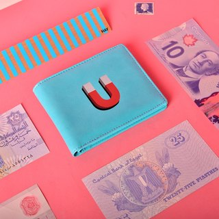 KIITOS bi-fold short wallet - money magnet