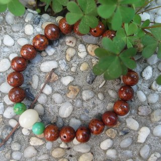 "Suddenly ""bracelet series"" Red Crescent Bodhi - quiet"