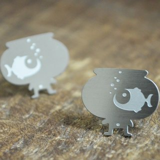 【Peej】'Big Dreamer' Stainless steel earrings