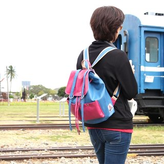 AMIMAH-Super CUTE. Korean style sweetheart pink backpack [am-0219]