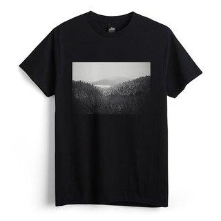 Forest - Black - Unisex T-Shirt