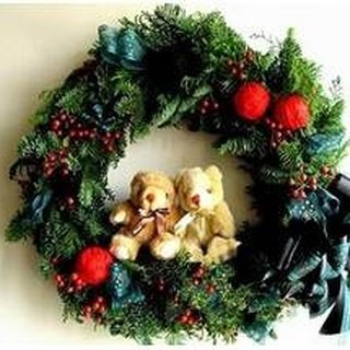 A01502000 exquisite handmade Christmas wreaths Nuobei Song