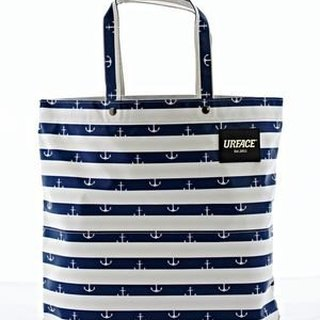 [URFACE] URFACE Original Series / stripe anchor Shopping Bag