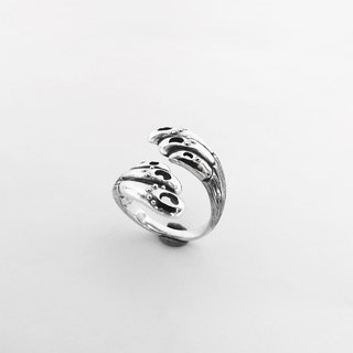 Wings of freedom (925 sterling silver ring) - C percent handmade jewelry