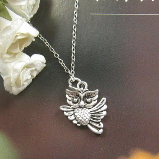 Little Owl Necklace (Christmas Gift)