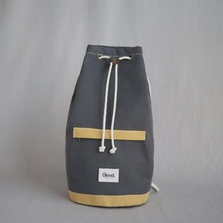 |100% handmade in Spain| Ölend Tramuntana Fabric | Drawstring backpacks (Grey)