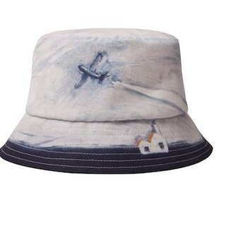 YIZISTORE hat landscape series fisherman hat