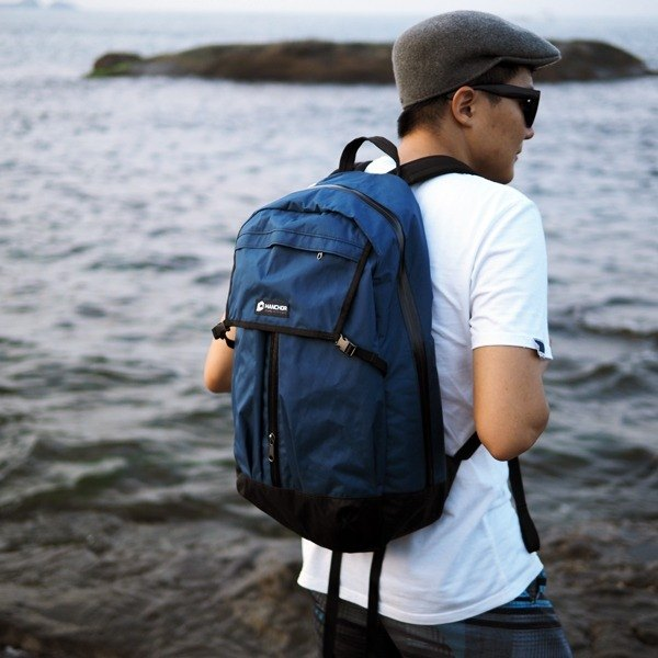PIPE-T1 生活防水後背包 藍