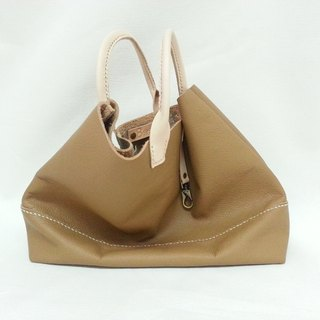 Feel full leather tote bag c (sold, please private news color selection)