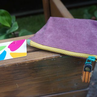 Sienna canvas purse