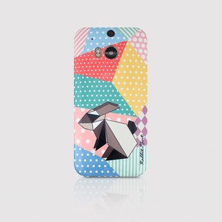 (Rabbit Mint) Mint Rabbit Phone Case - Origami Rabbit Series - HTC One M8 (P00057)