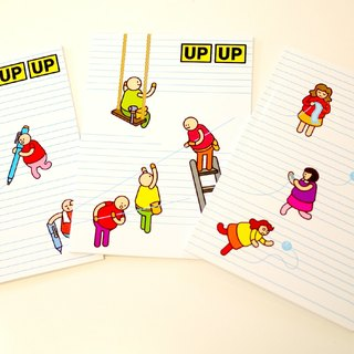 [UPUP placards villain] 25K notebook