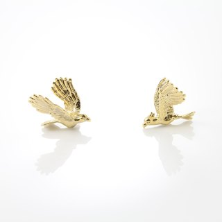 Cockatoo Earring - gold