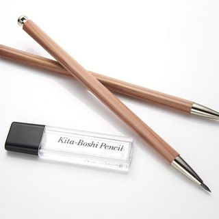 Japan North Star adults pencil attached refill cut (wood pen)