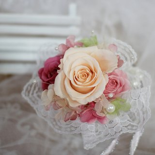 [Eternal wedding flower handle flower] - Preserved flowers / dried flowers / bouquet jewelry / wedding bouquets Bouquet / Flower Ceremony