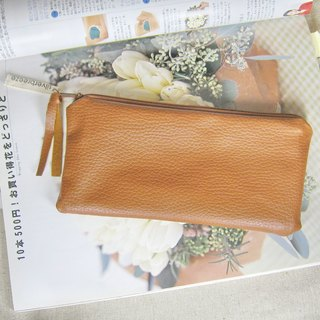 Silverbreeze zipper storage bag, phone bags, cosmetic bags, pencil case, leather, artificial plants