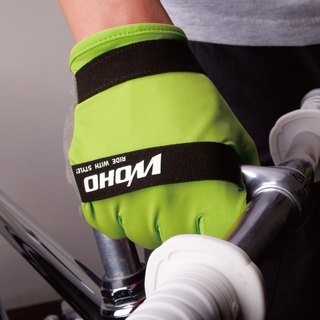 """NINJA NINJA"" Short finger cycle glove"