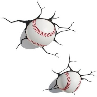 3D Light FX - Sport Series Baseball - 3D立體造型燈 棒球