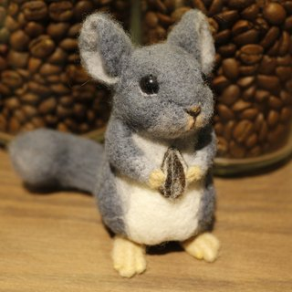 Velvet Rat (Chinchilla) Ornaments
