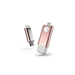 iKlips iOS pen drive 256GB rose gold