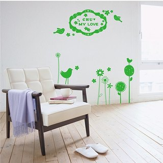 Smart Design Creative Floral Seamless floral wall stickers ◆